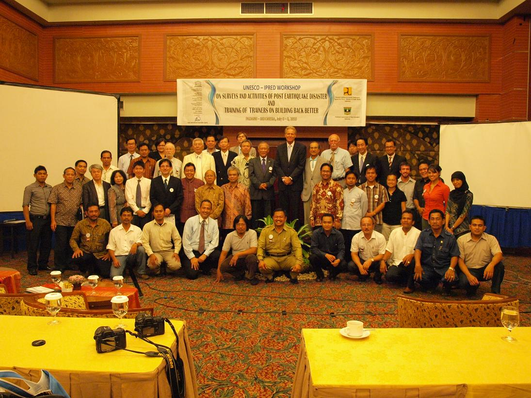 IPRED3 in Padan, Indonesia, July 2010